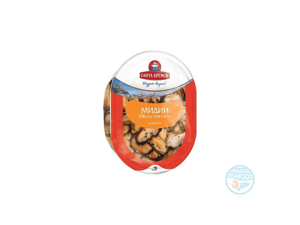 Myaso midii v rastitelgnom masle YUzhnye pryanosti 150 g